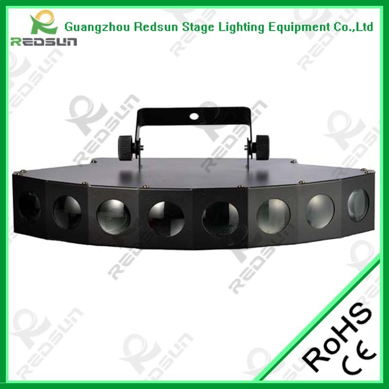 西安LED八頭光束燈(扇形)