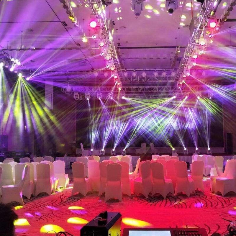 宴會廳舞臺燈光